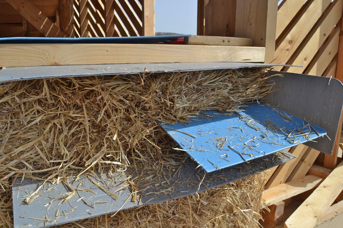 straw bale house Greece - Crete