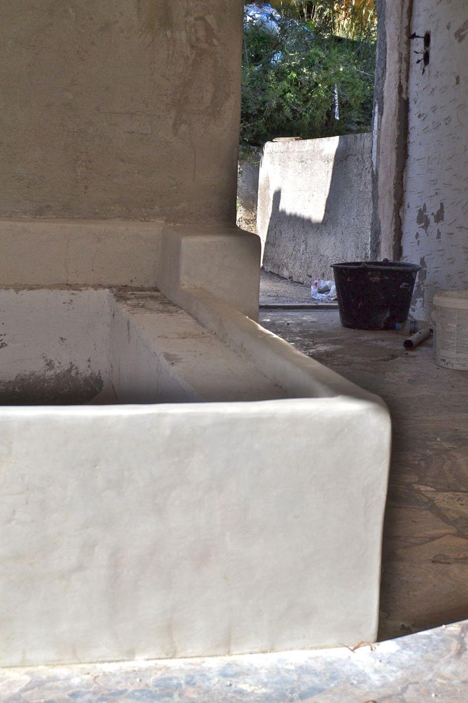 mediterranean: bath- and bedroom in tadelakt (gr) | strohnatur, Badezimmer