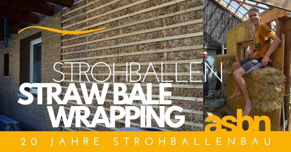 Strohballen Wrapping Workshop