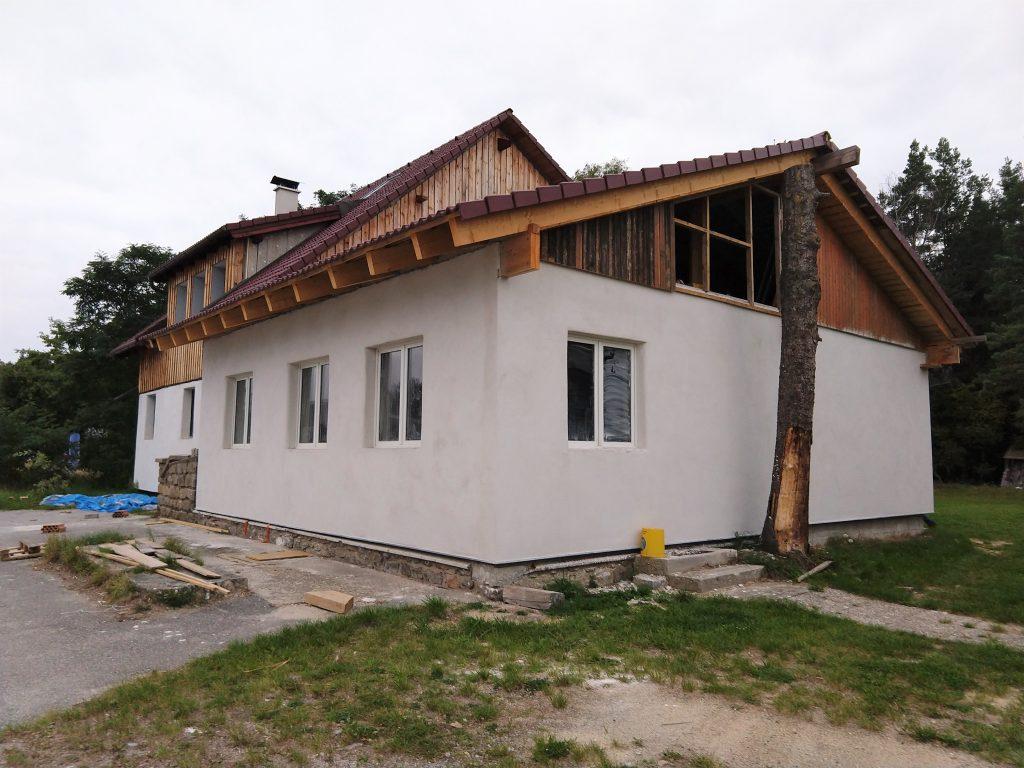 Strohballenhaus in Neu Nagelberg